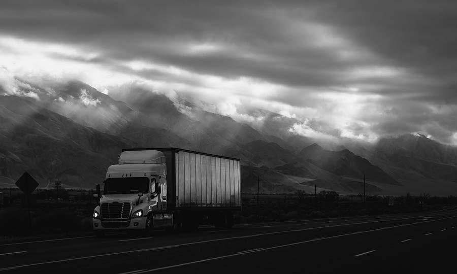 Trucks in Dalarna 2021
