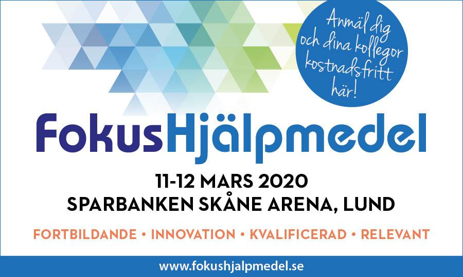 Fokus Hjälpmedel Lund 2020