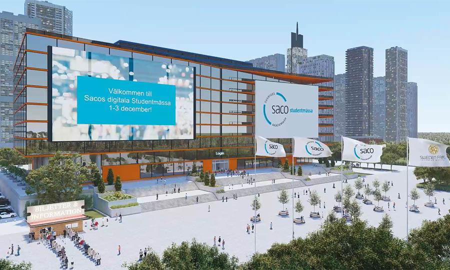 Saco Studentmässa 2021 Digital