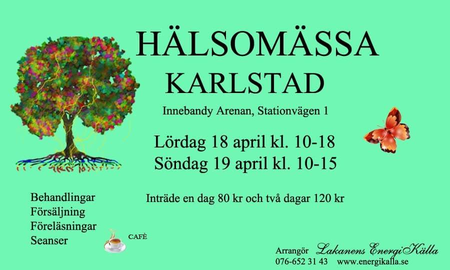 Hälsomässa 2020 Karlstad